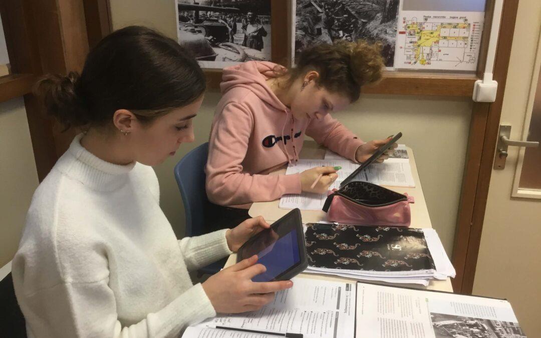 Leren via iPad op Spaarne College
